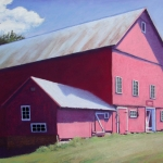 "09 Spear Barn, Stowe, 26"" x 38"", SOLD"