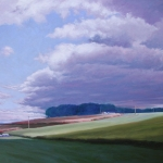"11 Farmland, 28"" x 40"", Not for sale"