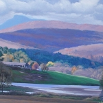 "10 Camel's Hump and the Winooski Valley, 26"" x 52"", Not for sale"