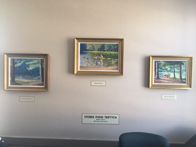 Storrs Pond Paintings on Permanent Display at Hanover Rec Center